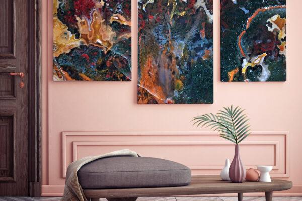 mock up poster with vintage pastel hipster minimalism loft interior background, 3D rendering, 3D illustration; Shutterstock ID 436008928; Purchase Order: -
